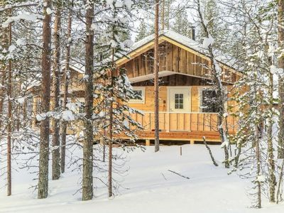 Photo for Vacation home Poromies d in Inari - 4 persons, 1 bedrooms