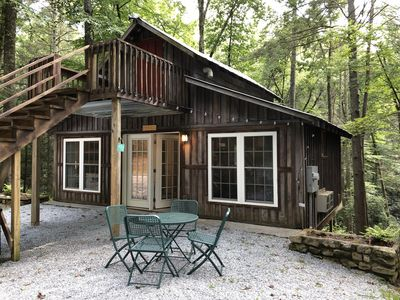 Photo for Relax & Recharge! Secluded Mountain Carriage House