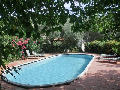 Photo for Charming, romantic villa in the hills with grounds,sea wiew,2 km Taormina Center