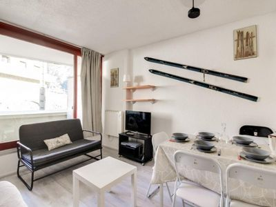 Photo for Apartment La Mongie, studio flat, 5 persons