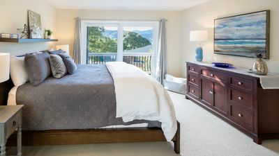 King Suite with sweeping views of Carmel Valley