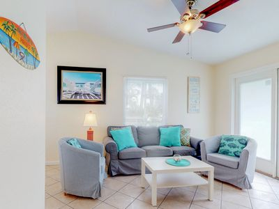Photo for NEW LISTING !Remodeled duplex w/private pool- close to beach & dogs are welcome!