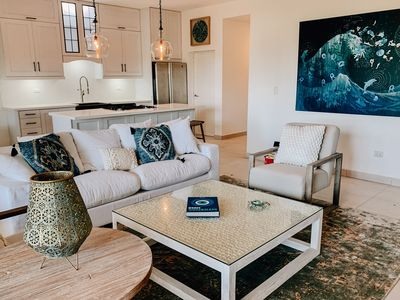 Photo for Ocean Point! Newly renovated upscale  oceanside 2/2 condo, Kite Beach, Cabarete