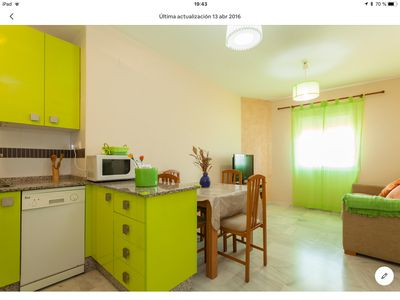 Photo for Tourist apartment Brisa Marina, with Air Conditioning, WiFi close to everything
