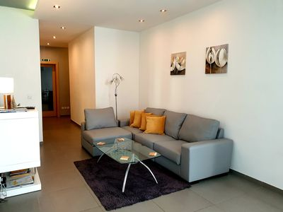 Photo for Modern Apartment 3 Minutes From Sliema Seafront With Balcony And Garden Views