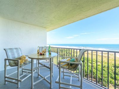 Photo for Top Floor Oceanfront Condo - Gorgeous View of Beach!