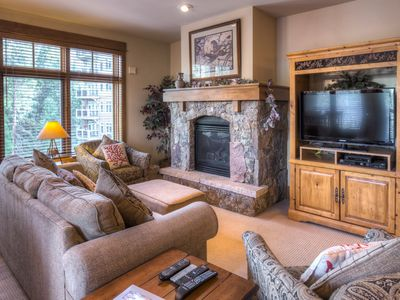 Photo for Ski-In/Ski-Out, 2-Bedroom High-end Condo, Private Laundry, Free WIFI