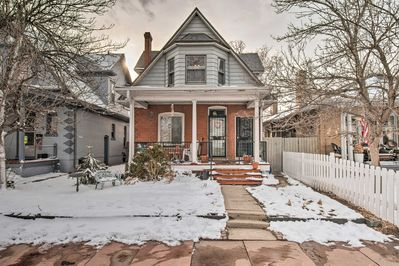 Experience the best of Denver from this central 2-bed, 1-bath vacation rental!