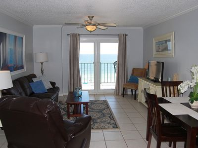 Photo for Surfside Shores 2502: Beautiful, newly updated 2br/2ba Gulf Front Condo