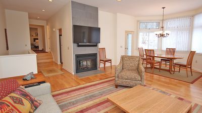 Photo for Elegant 4 BR condo in Lenox, MA- completely new- 3 min from Tanglewood