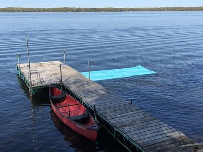 Photo for Family Friendly Cottage w/Spectacular Views of Round Lake-Hayward, WI