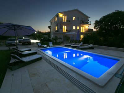 Photo for Luxury Villa with Private Heated Pool and Sea View 2