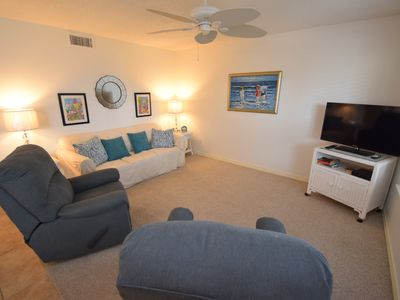 Photo for Ocean Echo 103- Budget friendly unit with the deck overlooking the pool!