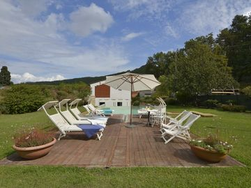 Private villa GIAVA with private pool, cooling system and garden