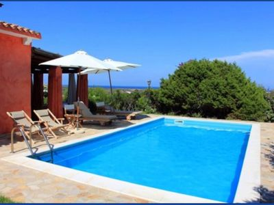 Photo for Stintino Villa Solara with independent pool, 4 bedrooms, 2 bathrooms, for 8 people