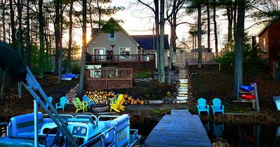 Photo for Beautiful Lake House only 11 miles from Traverse City on Spider Lake