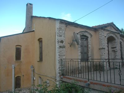Photo for Traditional village house on the forest at the Ikaria island,second floor.