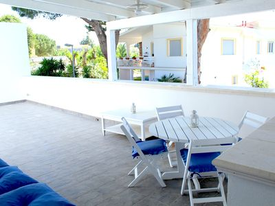 Photo for Beautiful and Cozy Apartment in Mondello, a few meters. from the beach!