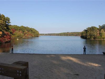 Photo for Pet Friendly, Walk to Pond and Cape Cod Rail Trail