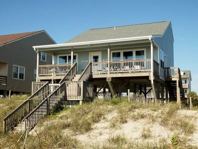Photo for Into The Mystic: 4 BR / 2 BA home in Oak Island, Sleeps 12