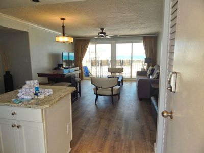 Photo for Condo #2120 is a beachside getaway, and Pet Friendly with Beach Service!