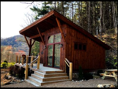 Photo for Red Wolf Chalet -Tiny Home with Eagles Nest amenities, private fire pit, pet friendly