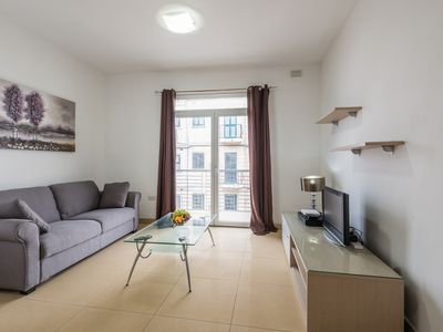 Photo for NEAR THE SPINOLA BAY SEAFRONT - SAINT JULIAN'S 2BR FLAT WITH BALCONY!