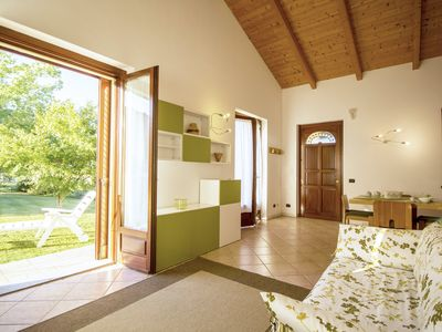 Photo for Panoramic apartment in villa with garden