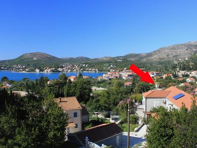 Photo for Apartment in Slano (Dubrovnik), capacity 4+2