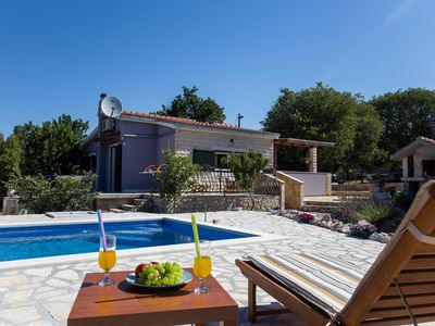 Photo for Villa in Dalmatia with the swimmingpool