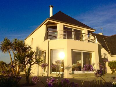 Photo for BREATHTAKING views, EXCEPTIONAL SEA and on Jersey island, luxury house