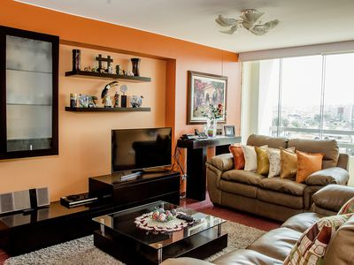 Photo for Elegant Apartment In Miraflores