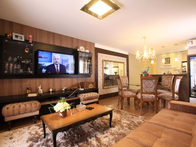 Photo for 2 suites in the Center of Gramado, WI-FI, Smart TV, Air conditioning for 04 Person