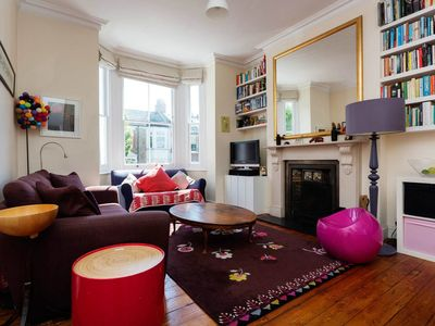 Photo for Located in the lovely West Hampstead. 4 bedroom home sleeping 9 (Veeve)