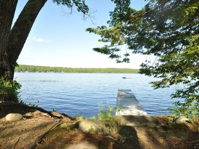 Photo for Quintessential Maine Lakefront Cottage