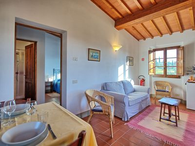 Photo for One bedroom Apartment, sleeps 2 in Galluzzo with Pool and WiFi