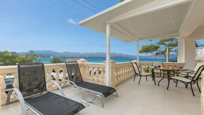 Photo for Great apartment with terrace and sea view