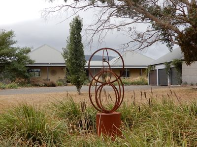 Photo for Secluded Macedon Ranges getaway with stunning views, close to Woodend township.