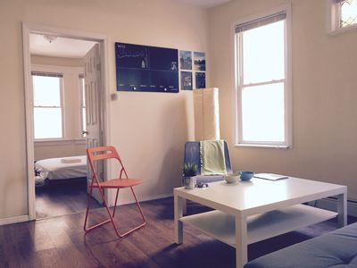 Photo for Sunny 3 Bedroom Apt Mins from NYC, TV/Washer/Dryer