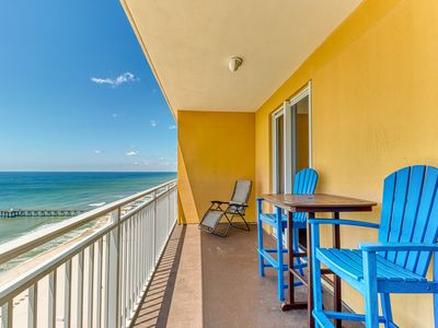 Photo for Fun in the sun on Panama City Beach w/ Gulf views, shared pool, & fitness center