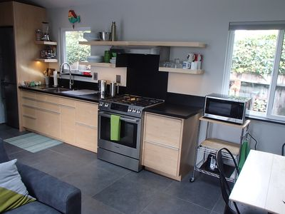 Kitchen with everything you need to make a gourmet meal!