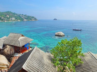 Photo for Peaceful seaview bungalow Koh Tao Snorkeling and relaxing paradise Sharkbay
