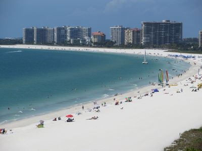 Photo for Expect the best Gorgeous 2B/2B Beachfront condo Magnificent views of the Gulf