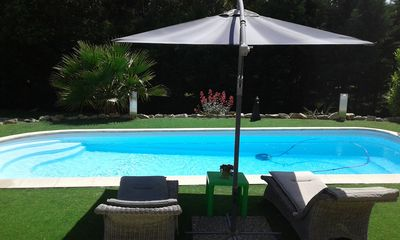 Photo for Loft LA MOTTE WITH GARDEN AND SWIMMING POOL between me