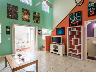 Photo for Bright & Tropical Loft in the Heart of Key West