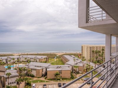 Photo for Sunchase IV 708: RESORT BEACHFRONT condo - PRIVATE balcony & so many amenities!