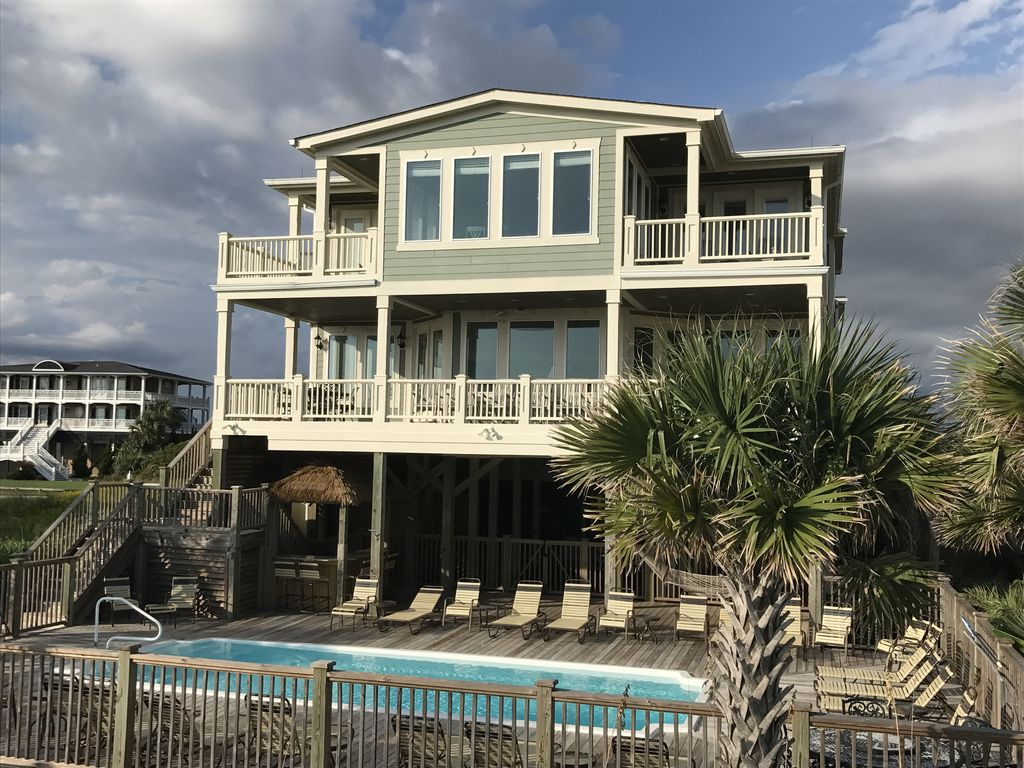 large oceanfront 16 br sleeps 50 perfect for family reunions groups rh homeaway com