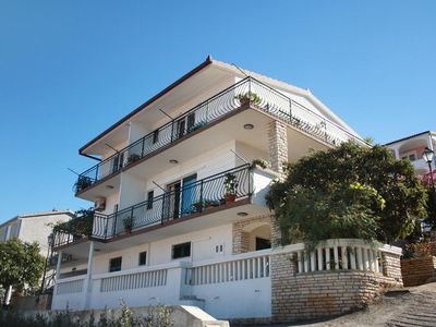 Photo for Two bedroom apartment with balcony and sea view Mastrinka (Čiovo)