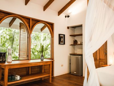 Photo for Charming Beach Front Bungalow -South Cabin - This is one of two bungalows