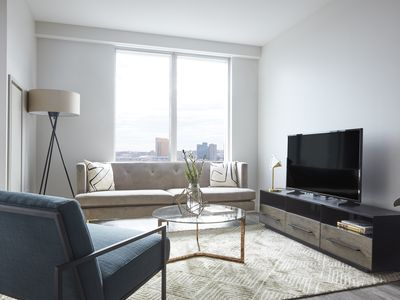 Photo for Sonder | Pierce Boston | Laid-Back 1BR + Gym